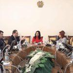 Քննարկում ՀՀ ԱԺ մարդու իրավունքների պաշտպանության եւ հանրային հարցերի մշտական հանձնաժողովում