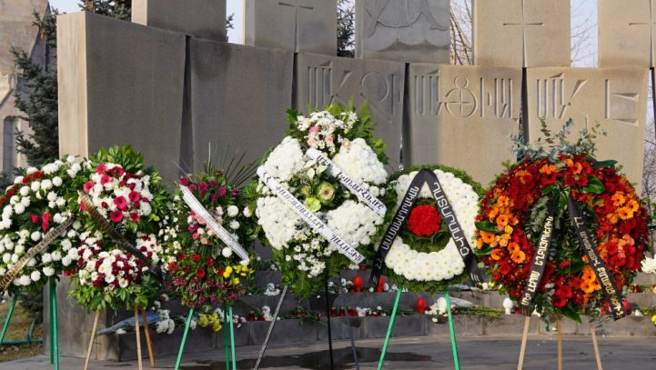 Advocates at the Erablur Military Pantheon paid tribute to the memory of heroes